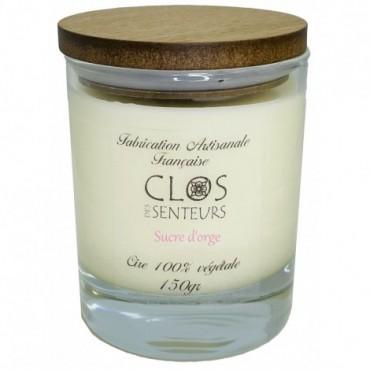 Bougie confiture de fraises