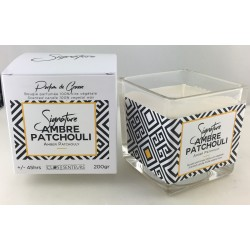 Amber Patchouly  candle