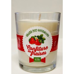 Candle 210gr Strawberry jam