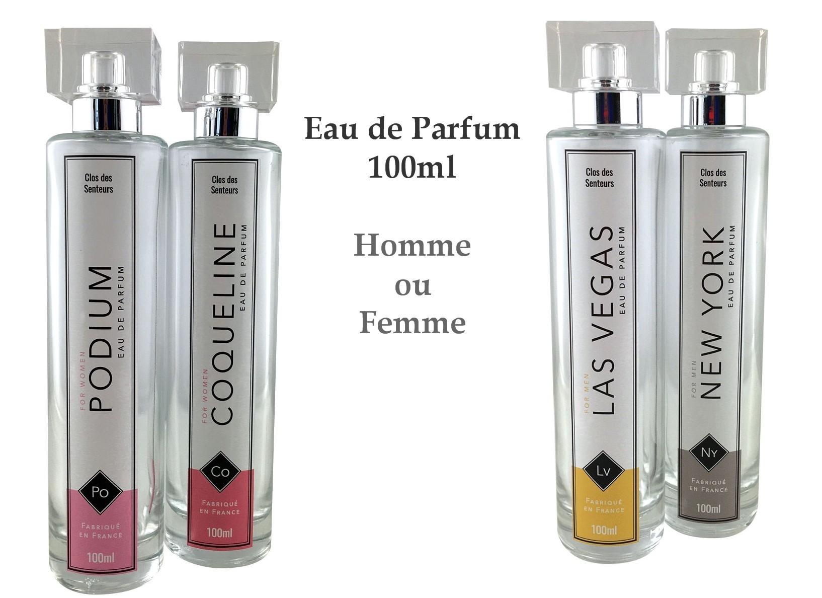 Eau de Parfum for men and women